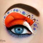El maquillaje para ojos se convierte en arte en estas hermosas fotos