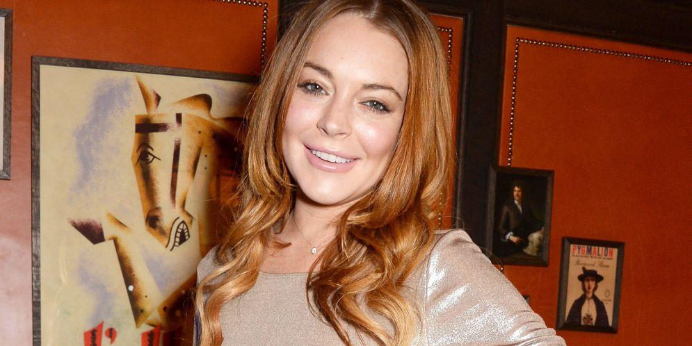Video de Lindsay Lohan bailando semidesnuda