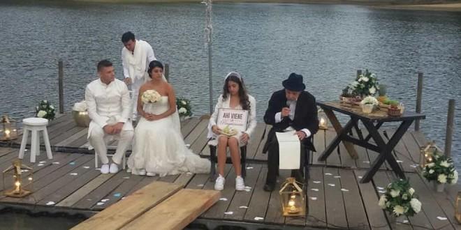 Fotos y video de la insólita boda de Juan David Posada y Valentina Molina