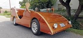 Sorprendentes carros hechos en madera. No son juguetes ni artesanías, son carros de verdad
