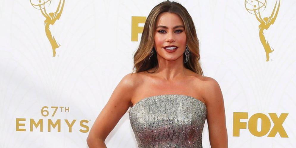 Sofía Vergara brilló con su vestido en la entrega de los Emmy