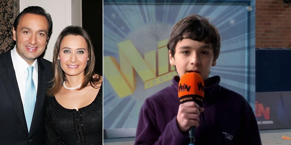hijo de Inés María Zabaraín y Jorge Alfredo Vargas
