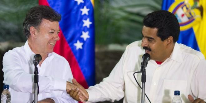 Lo que nos faltaba: Juan Manuel Santos y Nicolás Maduro al parecer son familiares