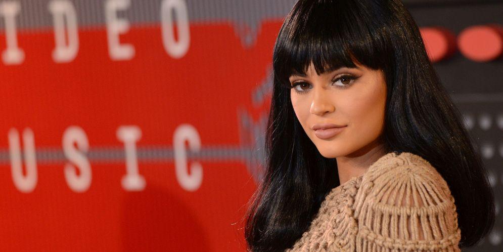 Kylie Jenner sin nada de maquillaje