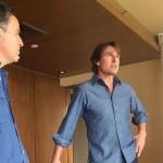 periodista que espiaba en la película de Tom Cruise