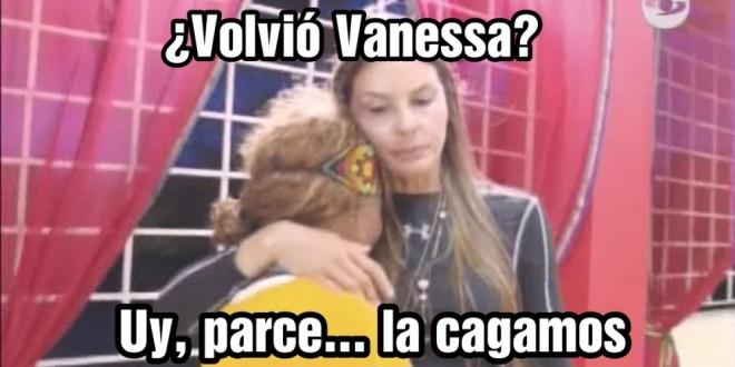 Video: Vanessa regresó para cobrarles a Paula y Hanny la salida de Mary Luz del Desafío India