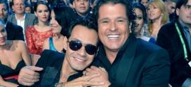 ¿Pillaron a Carlos Vives y Marc Anthony borrachos en un concierto?