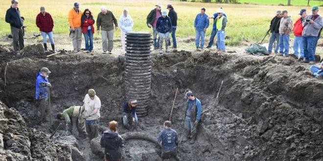 Granjero quedó en shock cuando desenterró una sorpresa de 15 mil años de antigüedad