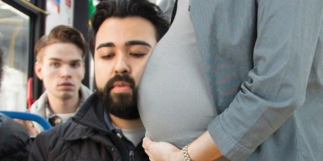 Indignante video: así se negaron a darle su asiento a una mujer con 8 meses de embarazo
