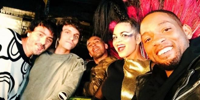 ¡Imperdible! Will Smith rapeando en español con sus amigos de 'Bomba Estéreo'¡Imperdible! Will Smith rapeando en español con sus amigos de 'Bomba Estéreo'