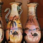 arte con arena dentro de una botella