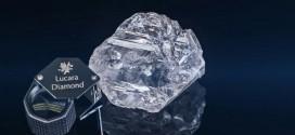 Así se ve el diamante más grande encontrado en este siglo