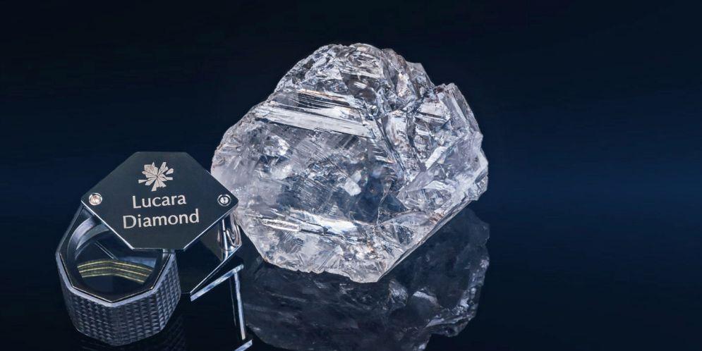 diamante más grande encontrado en este siglo