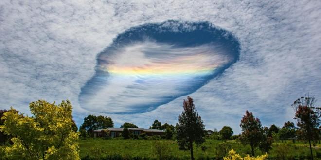 Te explicamos el origen de la extraña nube que dejó sin palabras a quienes la vieron