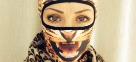 Conoce la nueva moda en pasamontañas que te harán parecer un animal salvaje