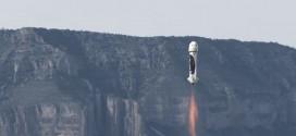 Video: prueban con éxito el primer cohete capaz de despegar y aterrizar verticalmente