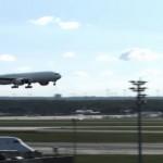 aterrizaje de un avion