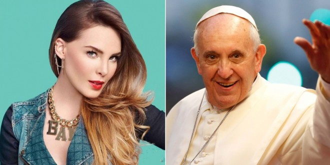 Belinda y el papa Francisco: ¿por qué dicen que la mexicana hizo enojar al argentino?