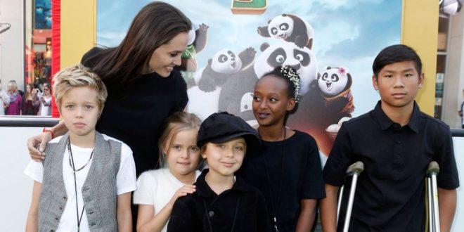 Detalles sobre la educación de los hijos de Angelina Jolie fueron revelados por la actriz