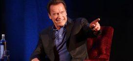Un elefante le hizo pasar un terrible susto a Arnold Schwarzenegger en Suráfrica