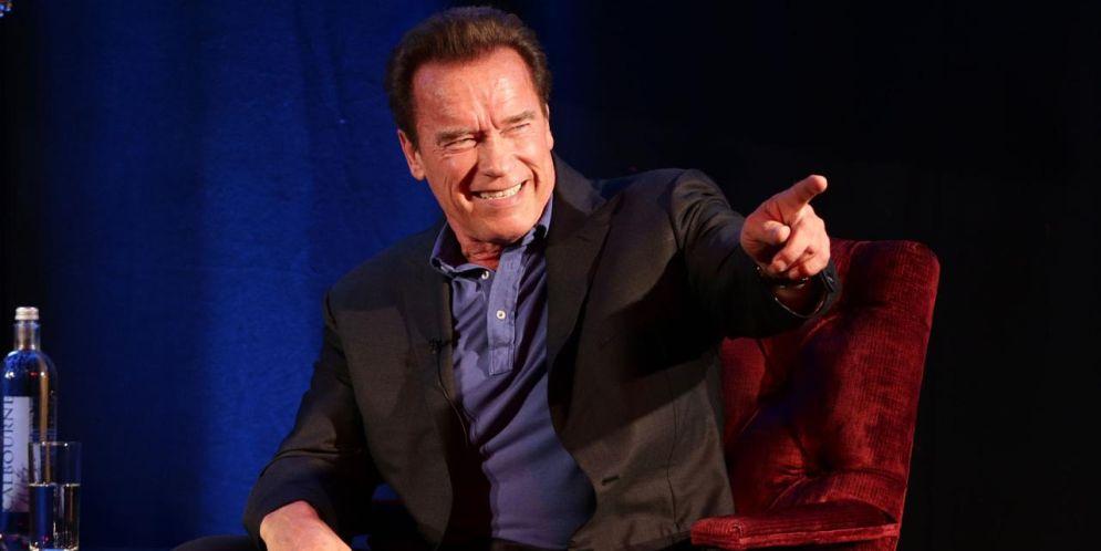 Arnold Schwarzenegger en Suráfrica