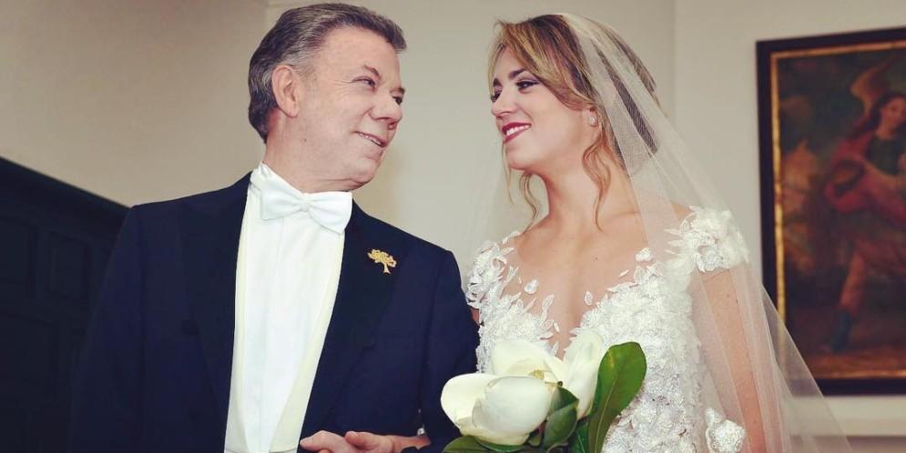 boda de la hija del presidente santos