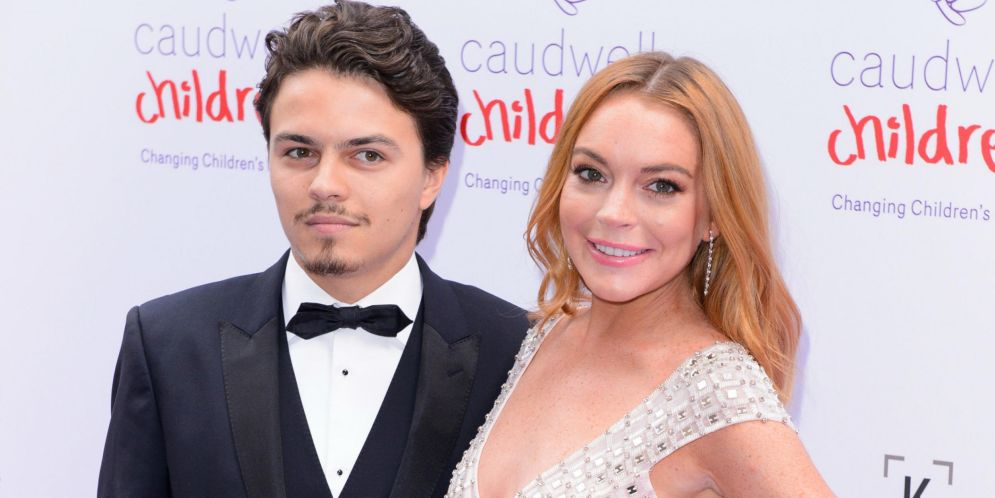 Lindsay Lohan y su prometido