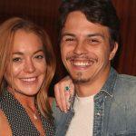 Lindsay Lohan y su novio