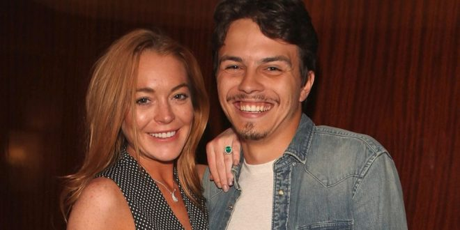 Problemas en el paraíso. Lindsay Lohan y su novio armaron un escándalo en Londres