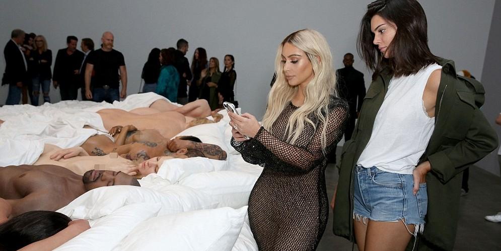 exhibición de arte de Kanye West