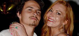 Fotos de Lindsay Lohan maltratada por su exnovio. La actriz rompió el silencio sobre el tema