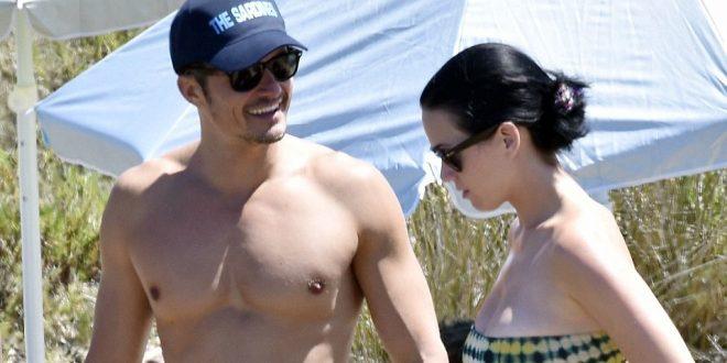 Como Dios lo trajo al mundo. Fotos de Orlando Bloom desnudo en sus vacaciones con Katy Perry