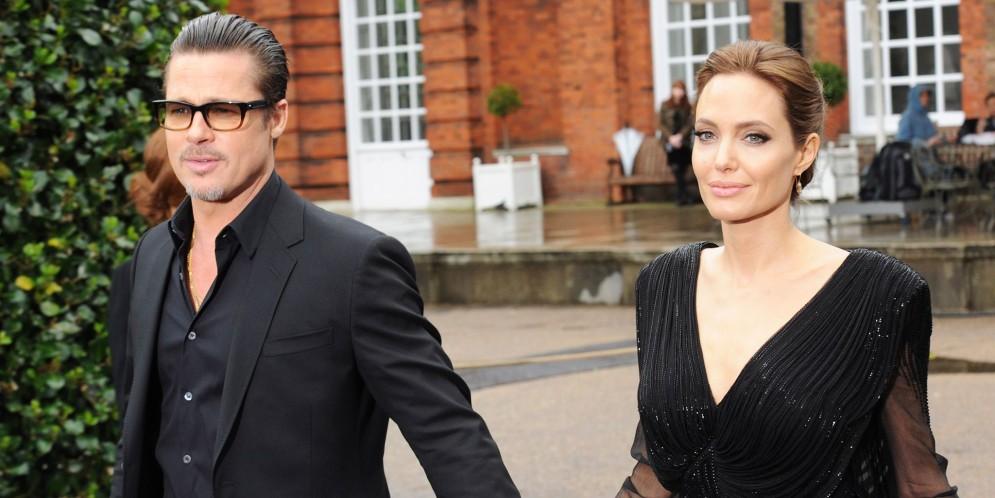 divorcio de Brad Pitt y Angelina Jolie