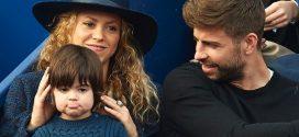 Ahora quien se monta en la bicicleta es el hijo de Shakira. Fotos de Milan Piqué junto a su padre