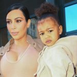 Kim Kardashian y su hija North West