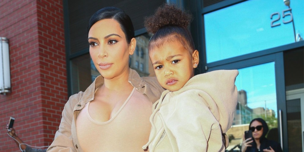 Kim Kardashian y su hija North West