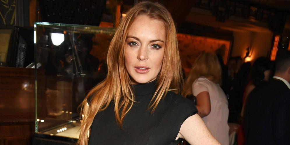 Lindsay Lohan en topless