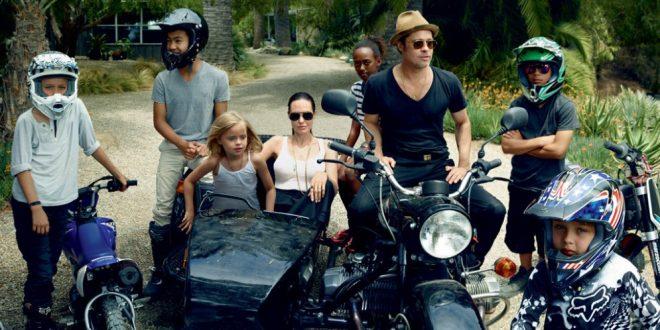 Dura pelea entre Angelina Jolie y Brad Pitt por la custodia de sus hijos
