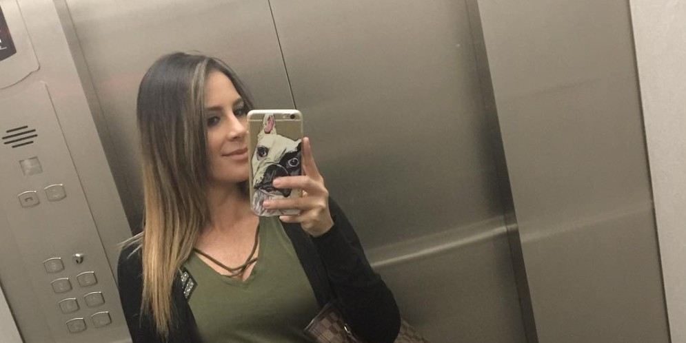 Carolina Soto despues del embarazo