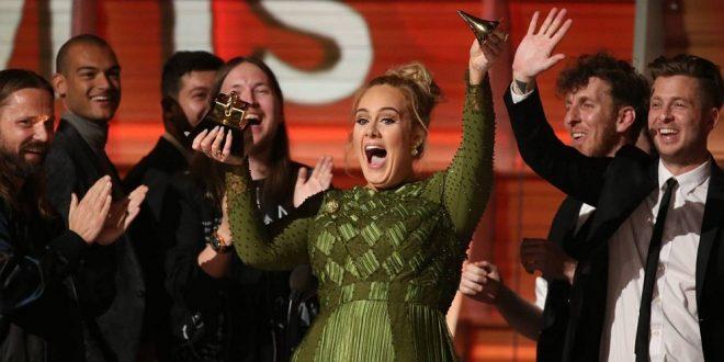 Adele venció a Beyoncé en la lista de ganadores de los Grammy 2017
