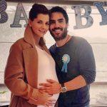 Carolina Cruz embarazada y Lincoln Palomeque