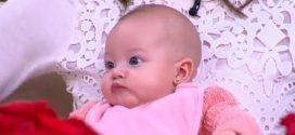 [Video] Así fue la presentación de la hija de Laura Acuña en televisión