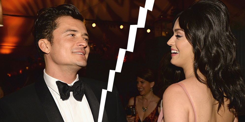 relación de Katy Perry y Orlando Bloom