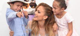 Primera aparición de los hijos de Jennifer López en un popular show