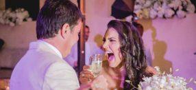 Video y las mejores  fotos de la boda de Jessica De La Peña